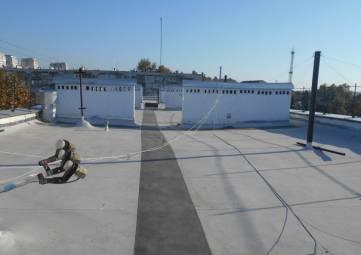 Капитально отремонтирована крыша 14-подьездного дома