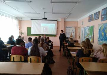 Сотрудники полиции провели «Уроки права» в школах г.Бахчисарая
