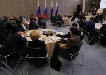 Завершилось расширенное заседание Президиума Государственного Совета РФ под председательством Президента Владимира Путина