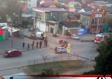 ДТП на Крымской