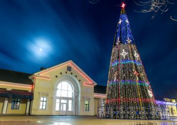 Главная новогодняя ёлка Феодосии откроется 19 декабря