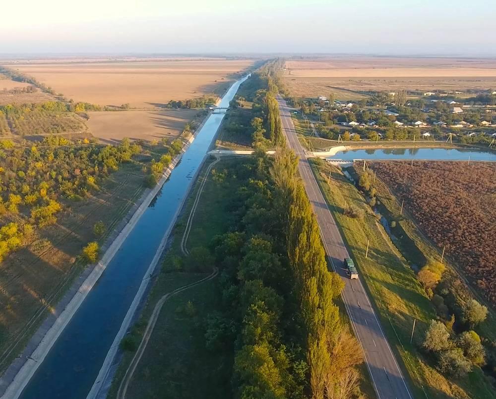 Строят альтернативу Северо-Крымскому каналу