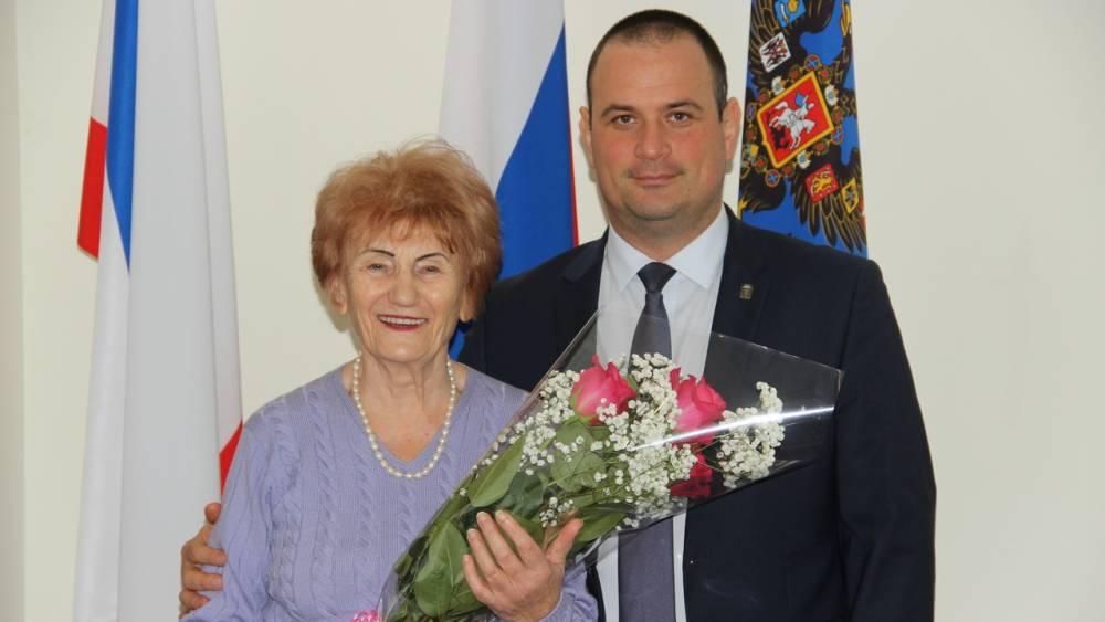 Глава городского округа поздравил Светлану Подоляко
