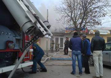 Горел Крымский рынок