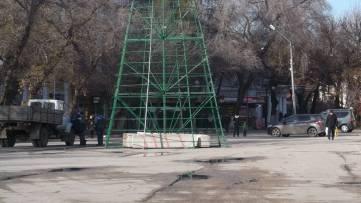 Главная елка Феодосии