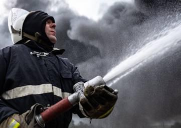 В Крыму горели два частных дома