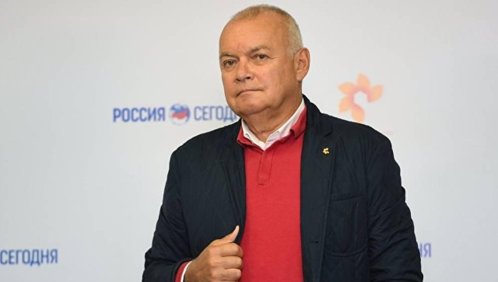 """Киселев рассказал, как 5 лет назад стал гендиректором МИА """"Россия сегодня"""""""
