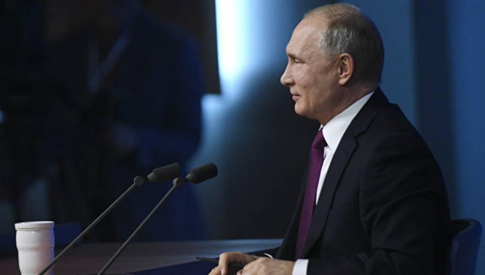 Путин ответил навопрос отом, когда женится