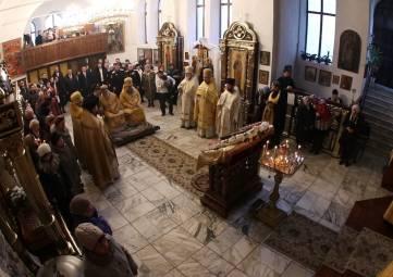 С.Фомич поздравил митрополита Платона