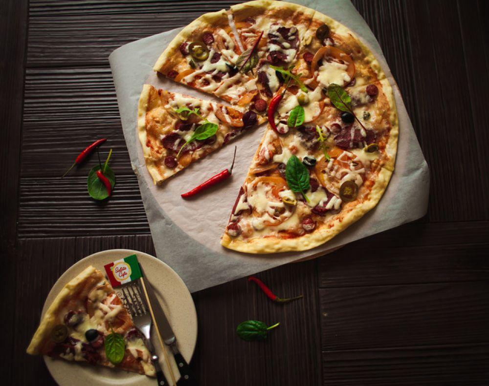 «SaluteCafe» о вкусной и «здоровой» пицце