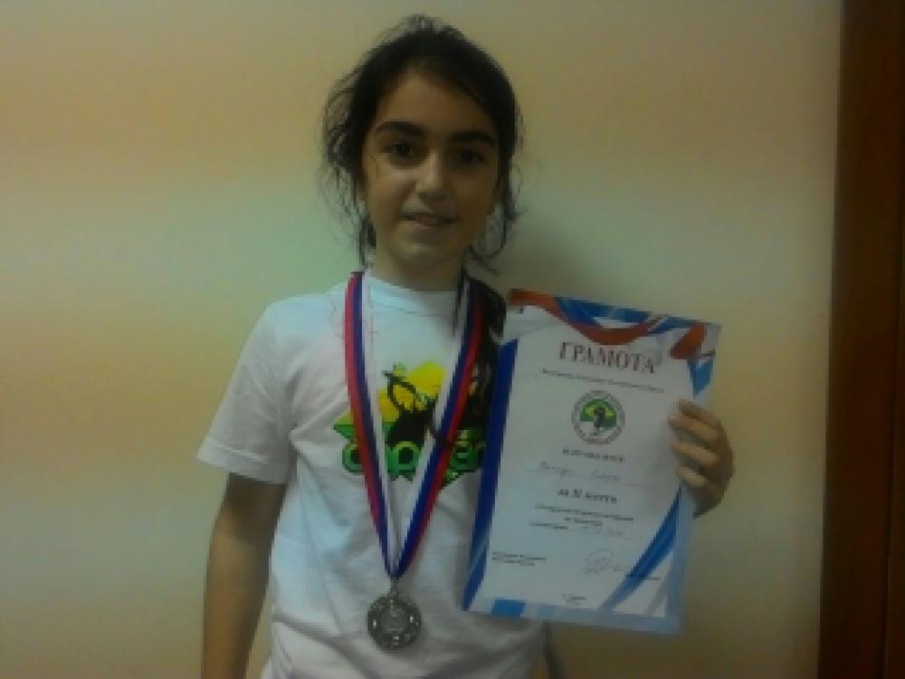 Феодосийка - Джемилова Лиана стала обладательницей серебряной медали первого республиканского чемпионата по капоэйре (ВИДЕО)