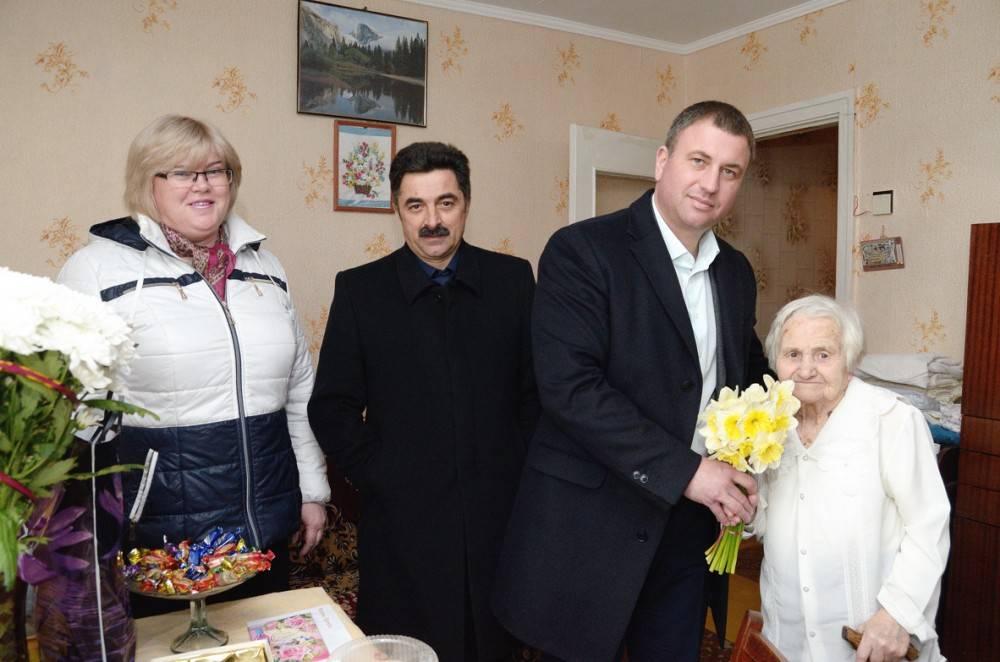 Нина Трещененкова отпраздновала свой 90-летний юбилей