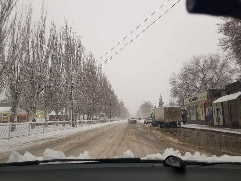 Ситуация на дорогах Феодосии