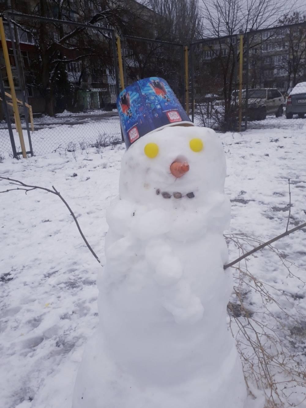 Cуровые феодосийские снеговики - феосети