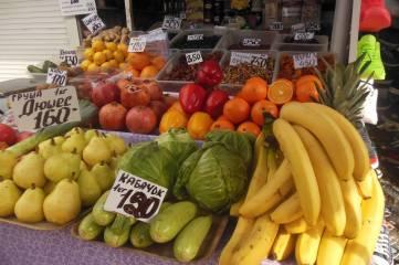 Рынок: «банановая» радость!