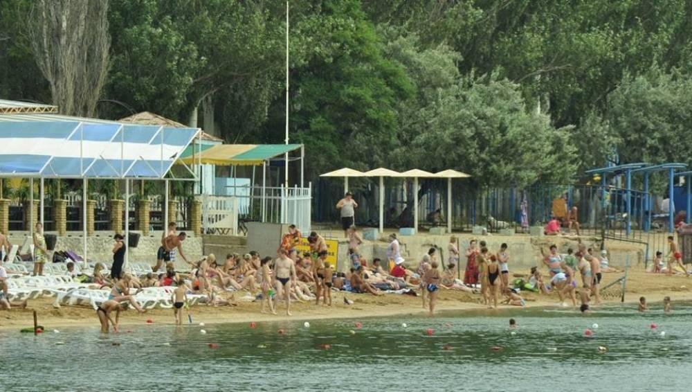 Подготовка пляжей к предстоящему курортному сезону