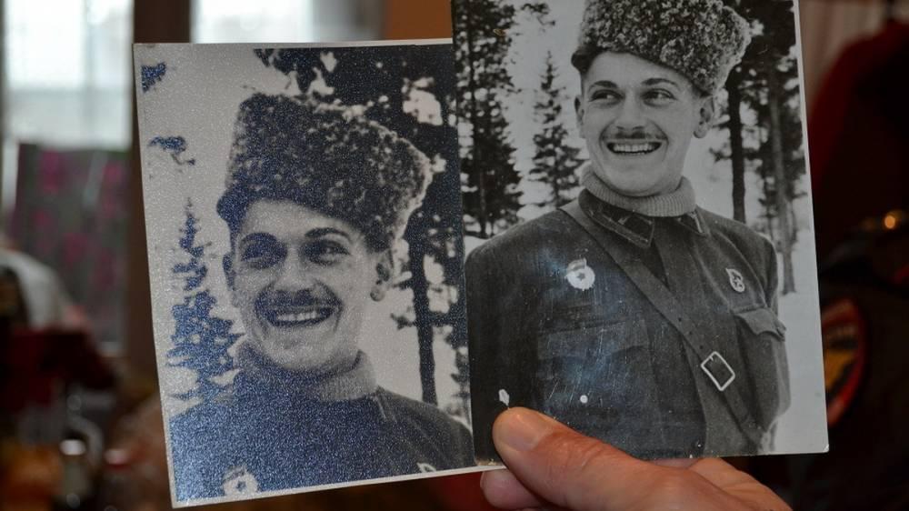 Ветерана Великой Отечественной войны Александра Захаровича Крижевского поздравили с Новым годом и Рождеством Христовым