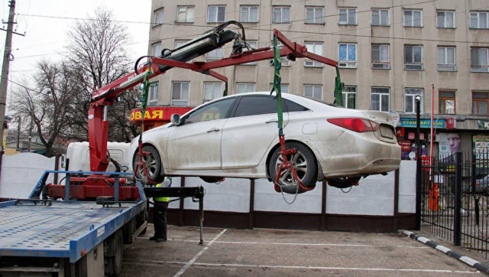 Эвакуация и хранение задержанных авто в Крыму