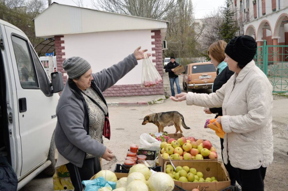 На сельхозярмарке в Феодосии реализовано 6,1 тонн сельхозпродукции