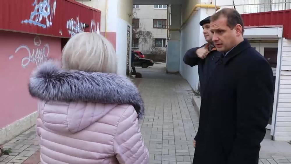С.Фомич прошел по основным улицам города (ВИДЕО)