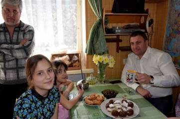 В гостях у счастливой семьи