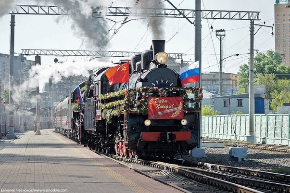 В воскресенье в Феодосию прибудет «Поезд Победы»