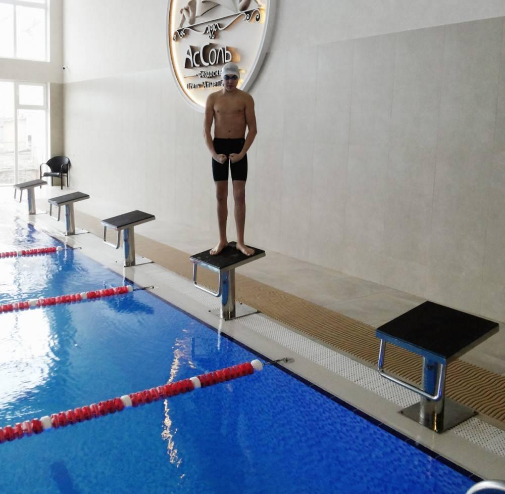 Восьмикратный чемпион из Феодосии представит Республику Крым на Чемпионате России по плаванию
