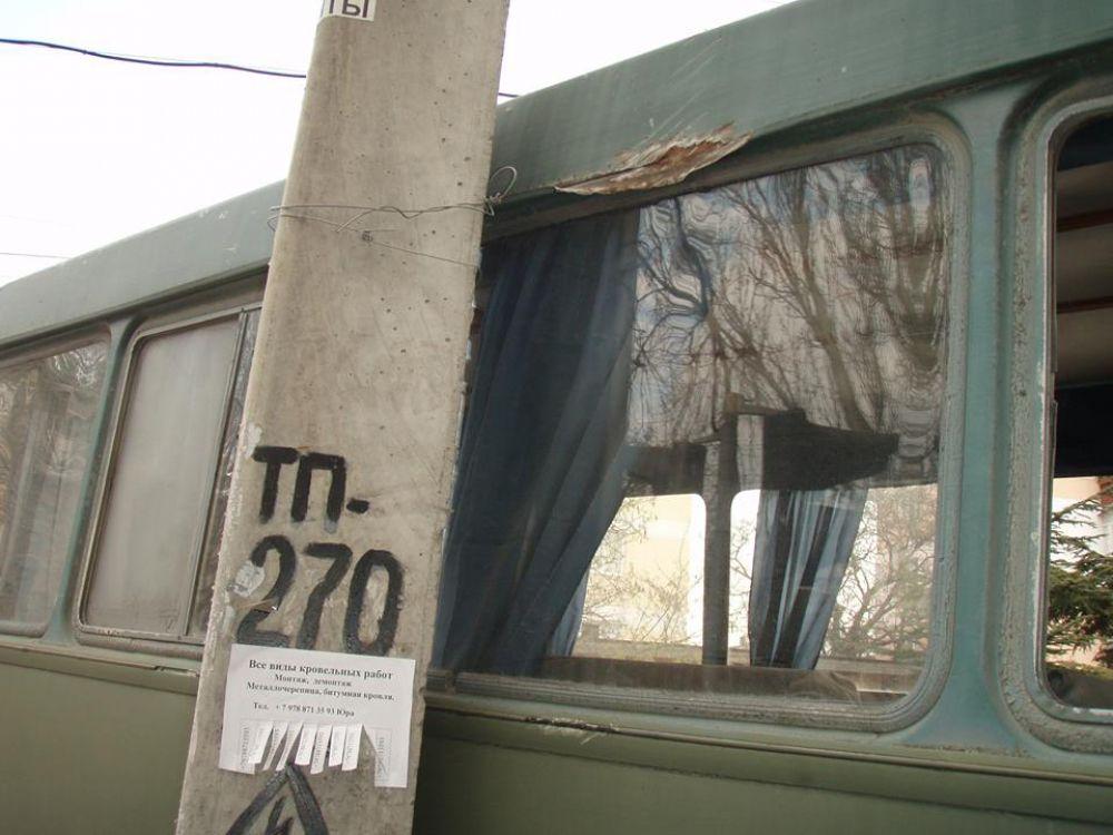 Авария на  ул.Украинской (Войкова)