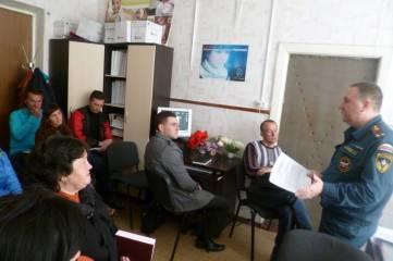 Сотрудники Феодосийского отдела МЧС проводят профилактическую работу.
