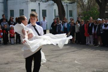 Первая школа в Феодосии