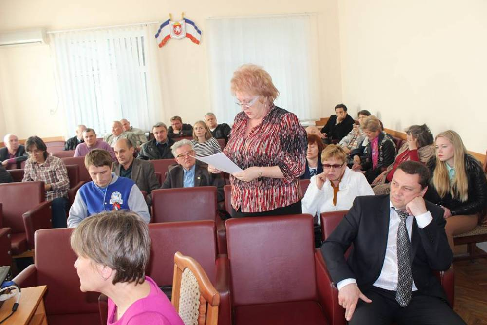 Круглый стол по вопросу принятия герба муниципального образования городской округ Феодосия
