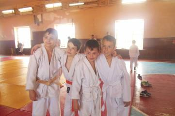 Юные дзюдоисты