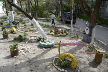 В Феодосии объявлен конкурс на лучший двор
