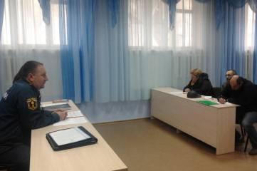 В Орджоникидзе обсудили пожароопасную ситуацию