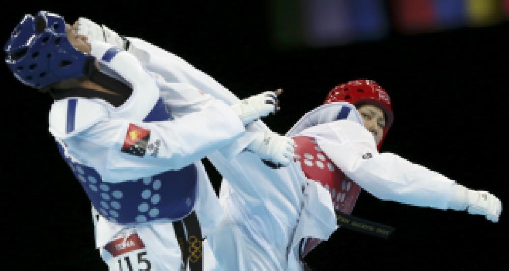 Более 100 спортсменов приняли участие в Первенстве Феодосии по тхэквондо