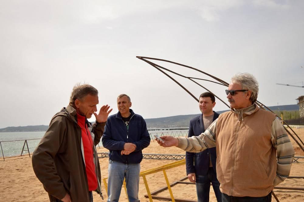 В Феодосии откроют единственный в Крыму стадион пляжных видов спорта