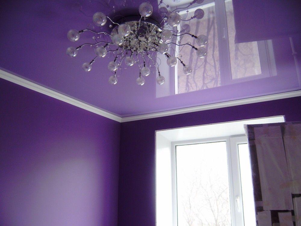 Уют в доме: натяжные потолки!