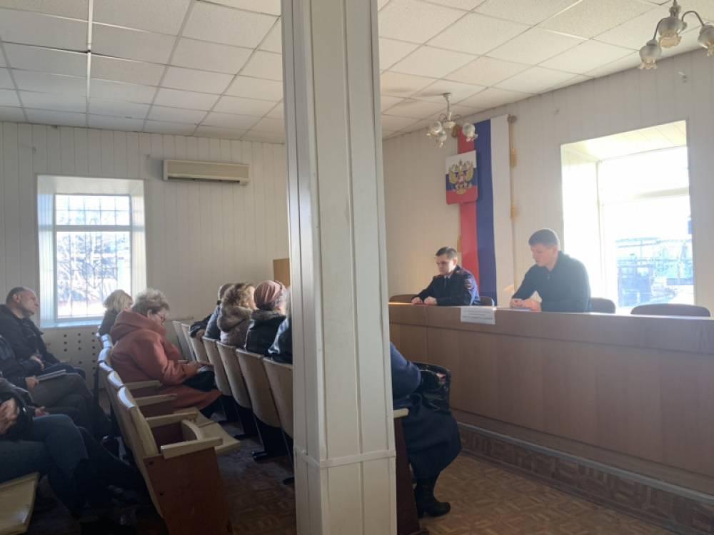 В Феодосии руководство полиции провело совещание
