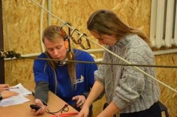 Состоялось ежегодное соревнование по связыванию узлов