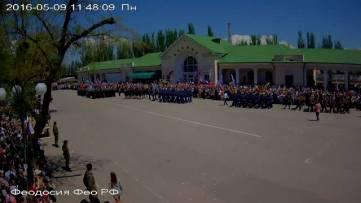 9 мая в Феодосии фото с веб-камер...