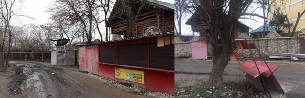 Черноморскую набережную очищают
