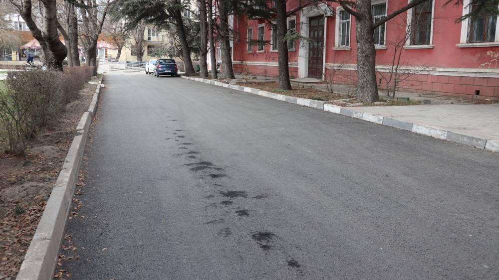 Капитальный ремонт дорог в Феодосии