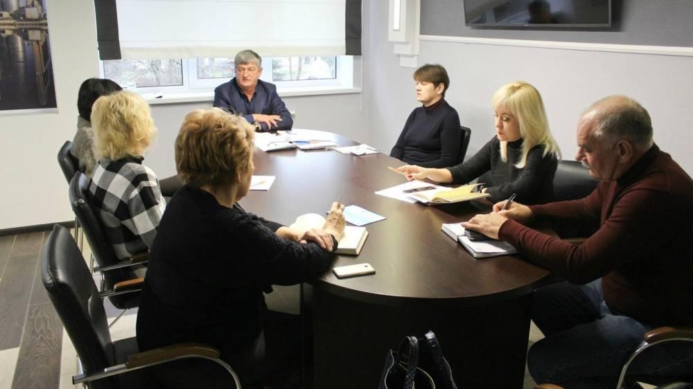 Глава администрации Андрей Ивкин провел рабочее совещание по текущим вопросам со своими заместителями