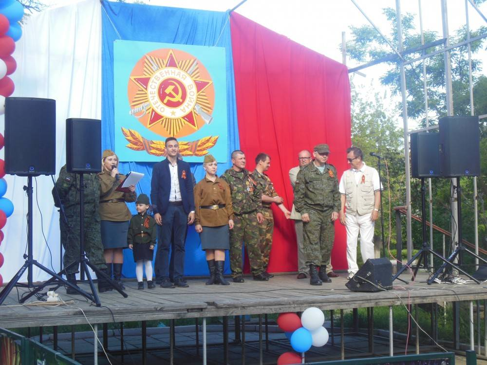 Акция в Приморском (фоторепортаж)