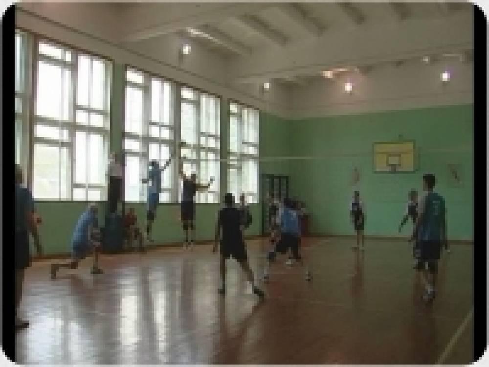 В Береговом провели один из этапов чемпионата Феодосии по волейболу