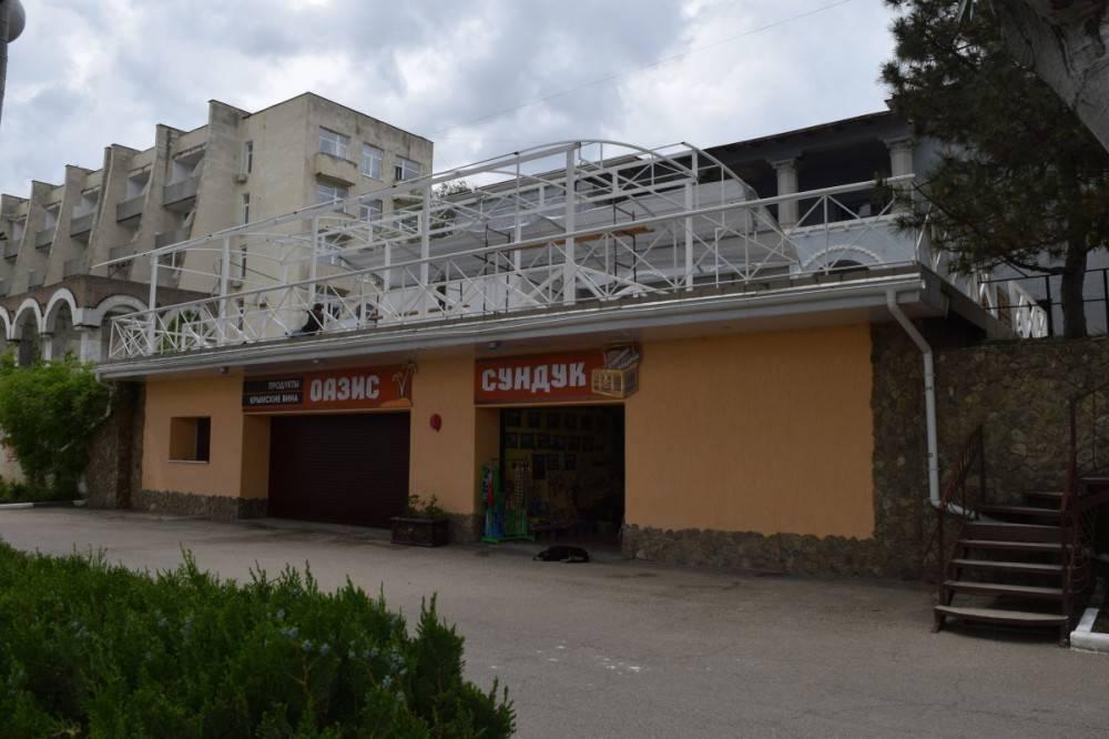 Строительство кафе на территории санатория «Восход» приостановлено