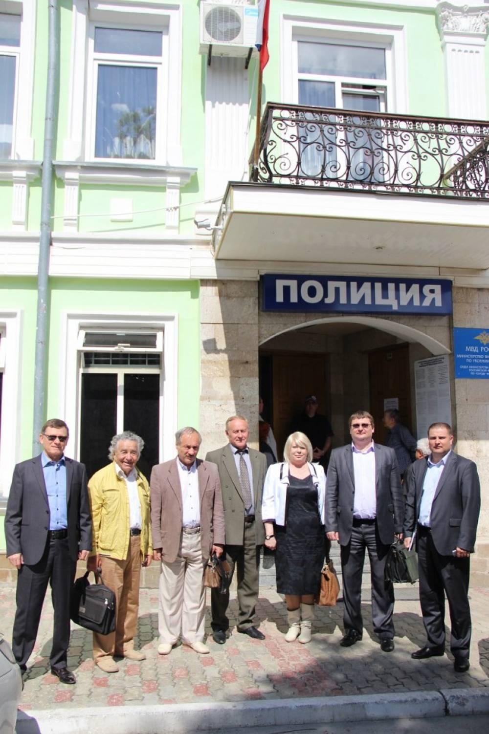 При Феодосийской полиции создан общественный совет