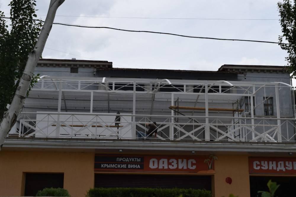 Законность навеса над бюветом санатория «Восход» расследуют специалисты из Комитета культурного наследия