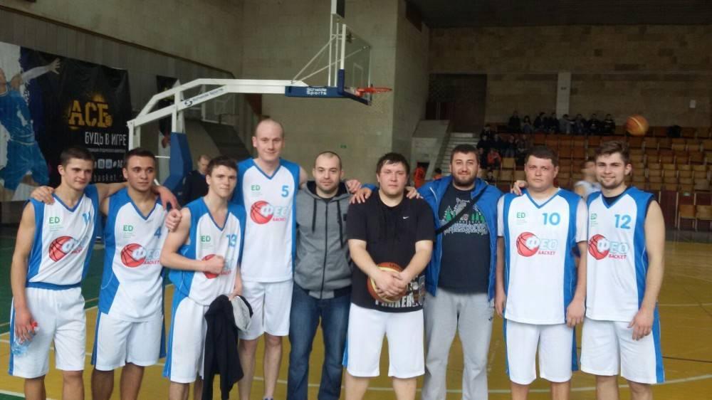 «ФеоБаскет» вышел на первое место в дивизионе «Б» чемпионата Крыма по баскетболу