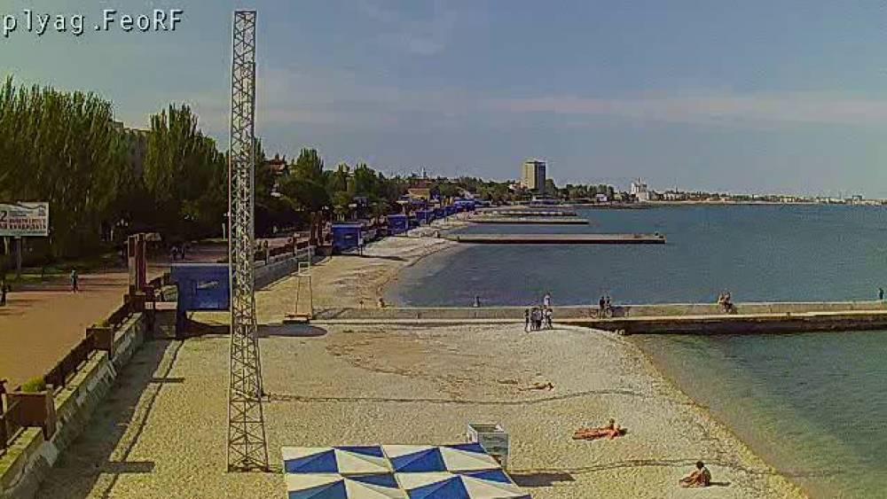 Феодосийские пляжи к курортному сезону готовы